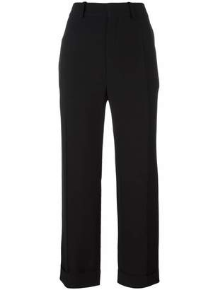 Chloé cropped tailored trousers