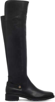 Carvela Comfort Ladies Black Vivian Knee-High Leather Boots