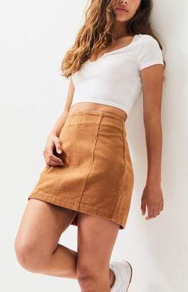 PacSun Paneled Corduroy Skirt