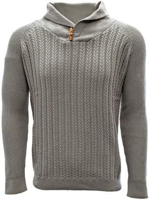 Salute Heritage Shawl Collar Sweater