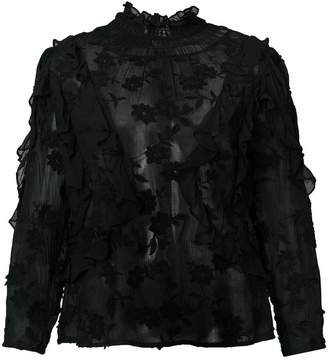 Rebecca Taylor loose fitted blouse