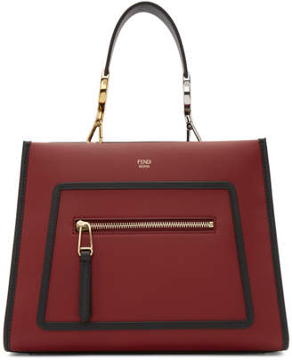 Fendi Red Small Runaway Tote