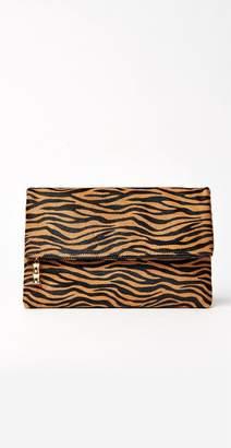 J.Mclaughlin Sienna Pony Hair Clutch in Zebra