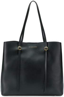 Polo Ralph Lauren (ポロ ラルフ ローレン) - Polo Ralph Lauren logo embossed tote bag
