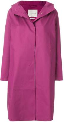 MACKINTOSH hooded raincoat