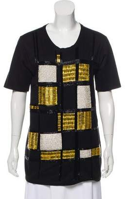 Balmain Beaded Embellished Tunic w/ Tags