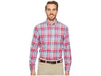 Vineyard Vines Middleton Place Performance Plaid Flannel Tucker Shirt Men's Clothing