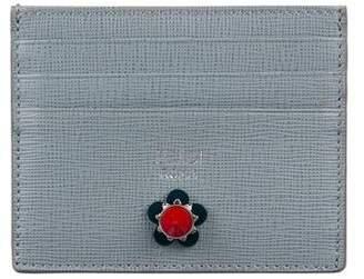 Fendi Leather Flowers Card Case