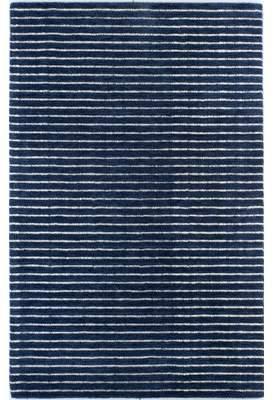 Blue Area Mercury Row Worsham Hand-Woven Wool Rug