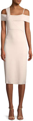 Jason Wu Knit Cold-Shoulder Dress