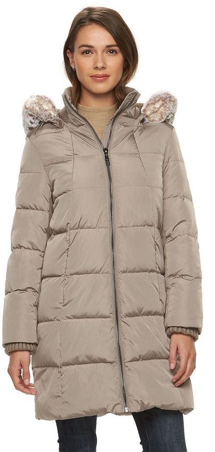 Women S Gallery Hooded Puffer Down Puffer Jacket 240