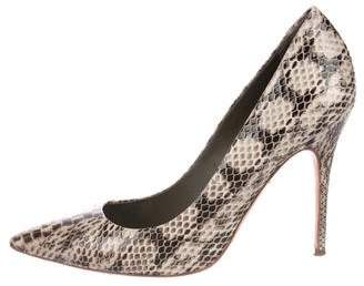 Tory Burch Cecilia Snakeskin Pumps