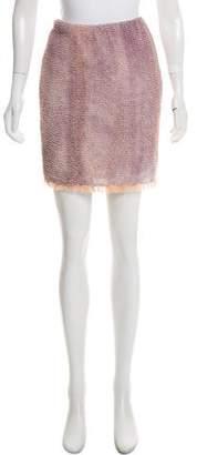Proenza Schouler Textured Mini Skirt