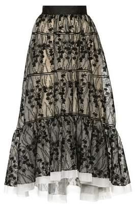 Huishan Zhang Olimpia embroidered skirt