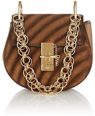Chloé Women's Drew Bijou Small Suede & Leather Crossbody Bag