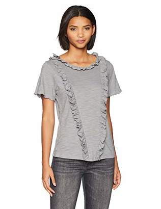 Brooke Mille Women's T-Shirt -Frill Front M
