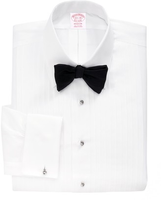 Brooks Brothers Madison Fit Ten-Pleat Tennis Collar Tuxedo Shirt