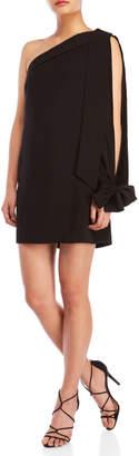 Keepsake One-Shoulder Tunic Dress