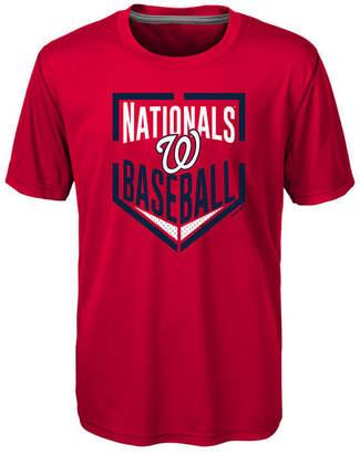 Outerstuff Washington Nationals Run Scored Poly T-Shirt, Big Boys (8-20)