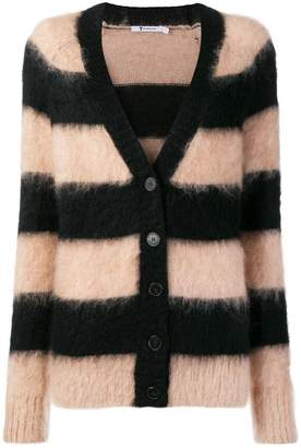 Alexander Wang striped knitted cardigan