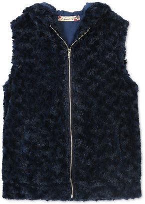 Speechless Girls' Faux-Fur Vest, Big Girls (7-16) $42 thestylecure.com