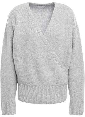 Melange Home Le Kasha 1918 London Wrap-effect Cashmere Sweater