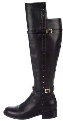 Valentino Embellished Knee-High Boots