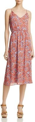 AQUA Floral V-Neck Dress - 100% Exclusive $78 thestylecure.com