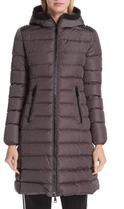 ... Moncler Taleve Hooded Quilted Down Coat