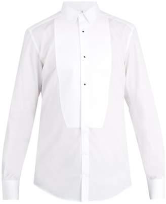Dolce & Gabbana Single-cuff cotton-poplin dinner shirt