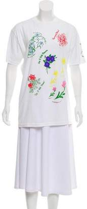 Rosie Assoulin Printed Short Sleeve Top