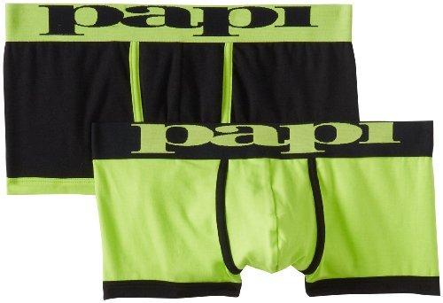 Papi Men's 2 Pack Highlight Brazilian Trunk
