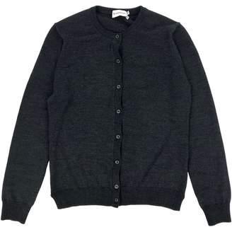 Moncler Grey Wool Knitwear
