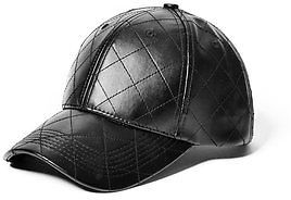 GByGUESS G By Guess Men's Quilted Faux-Leather Baseball Cap $24.99 thestylecure.com