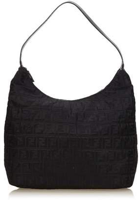 Fendi Vintage Zucca Nylon Hobo Bag