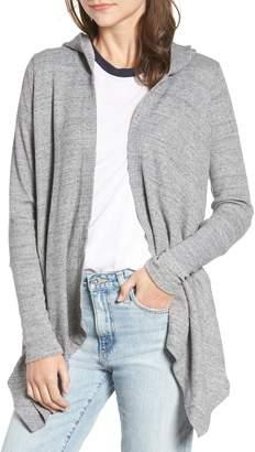 Splendid Thermal Hooded Cardigan