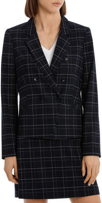 Midnight Check Suit Jacket