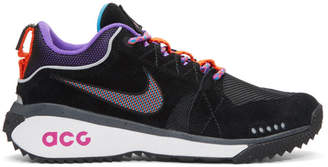 Nike ACG Black and Purple ACG Dog Mountain Sneakers