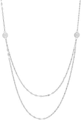 14k Gold Forzatina Chain Swag Necklace