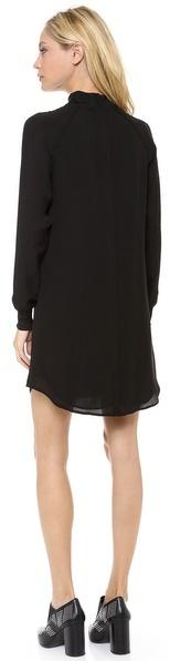 Theory Aerine Long Sleeve Dress