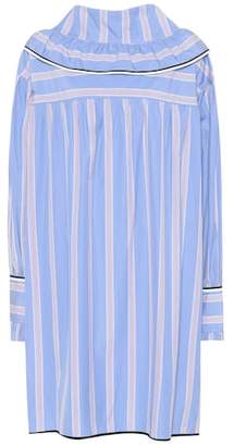 Marni Striped cotton dress