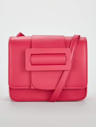 Very Paris Buckle Crossbody Bag - Pink