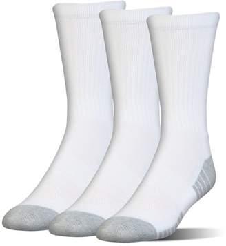 Under Armour Kids' UA HeatGear® Tech Crew Socks – 3-Pack