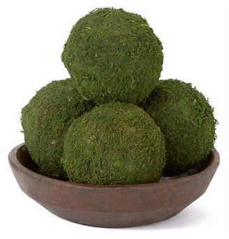 Knud Nielsen Company Set of 4 Moss Balls - Dried