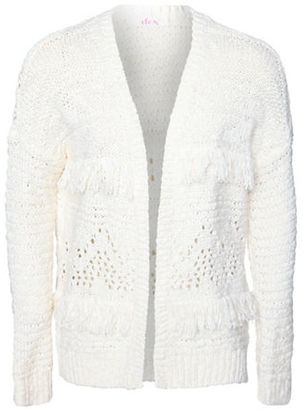 Dex Solid Knit Long-Sleeve Cardigan $40 thestylecure.com