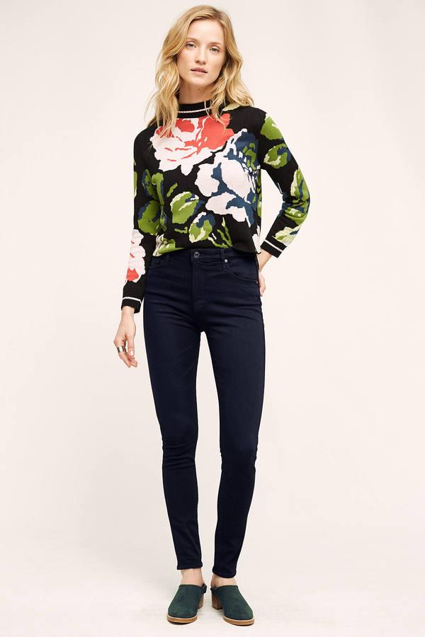 AG JeansAG Farrah High-Rise Skinny Jeans