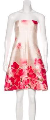 Lela Rose Wool & Silk Knee-Length Dress