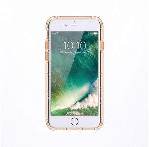 Griffin Survivor Clear 5.5 Cover Gold Transparent Phone Case For iPhone 6