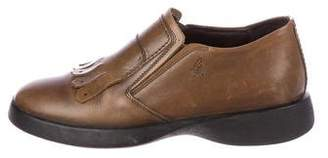 Hogan Kiltie Leather Loafers