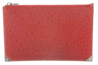 Alexander Wang Embossed Leather Pouch